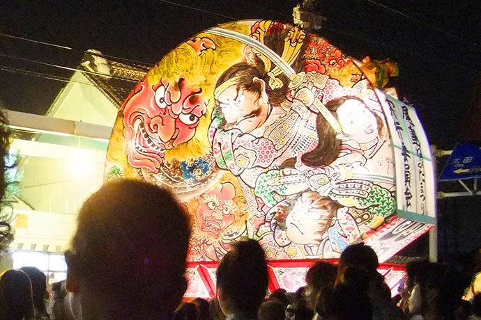 青森県弘前市ねぷた祭