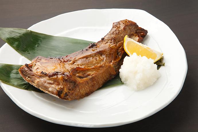 神奈川県三浦市ふるさと納税返礼品 マグロのカマ 調理例