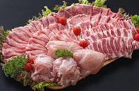 都城産「おさつポーク」と宮崎県産鶏のスペシャルコラボセットへのリンク