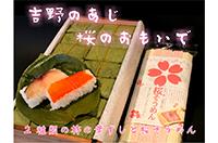 柿の葉寿司と桜そうめん (寄付金額 10,000円)へのリンク