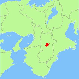 奈良県吉野町地図