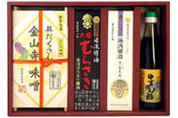 紀州ギフト(具だくさん金山寺味噌・ゆずぽん酢など)(寄付金額 10,000円)へのリンク