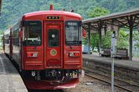 長良川に沿って走る 赤い観光列車「ながら」(寄付金額 25,000~円)へのリンク
