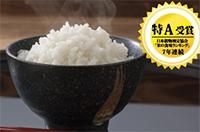 """【先行予約】H29年度新米!特別栽培米""""さがびより""""15kg+もち米5kg付!(寄付金額 20,000円)へのリンク"""