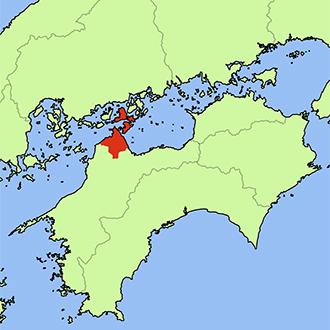 愛媛県今治市地図
