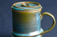 上野焼巴ライン マグカップ(上野緑釉)(寄付金額 20,000円)へのリンク