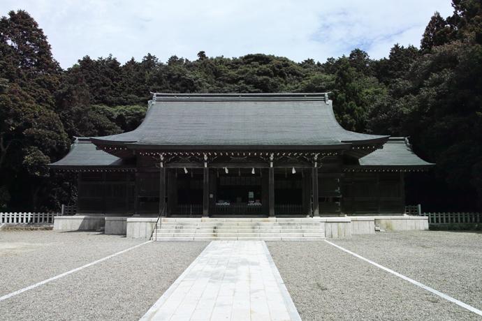 後鳥羽上皇を祀った隠岐神社